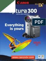 Canon Optura300 Brochure