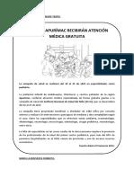 AFICHE - CAMPAÑA DE SALUD