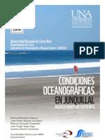 Condiciones oceanográficas en Junquillal, Pacífico norte de Costa Rica.