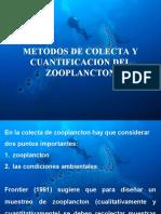 Metodos de Colecta de Zooplancton