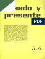 Pasado y Presente, Primera Época, Nº 5-6, 1964