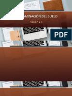 CONTAMINACIÓN DEL SUELO - EXPONER