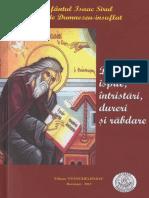 Sf. Isaac Sirul - Despre ispite, dureri, intristari si rabdare.pdf