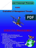 Evolution of Mgt Thought (Ppt) by p.rai87@Gmail
