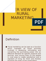 Overview of Rural Marketing