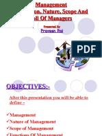 Management (Ppt) by p.rai87@Gmail