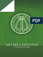 Artaria Catalogue 2020