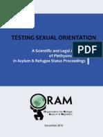 Testing Sexual Orientation