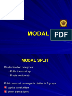 MODAL SPLIT TRANSLATE