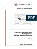Operation and Calibration Manual. 723PLUS Digital Speed Control for Single Engine Marine Propulsion Applications 8280-419. Manual 02880 (Revision B).pdf