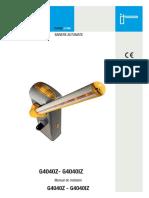 FA01242-RO - Bariera Came Gard 4