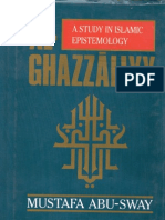 al-Ghazali; A Study in Islamic Epistemology