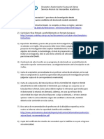 Requisitos Modelo Doctorado Sandwich DAA