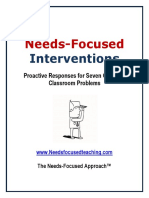 Needs-Focused-Interventions