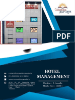 Competition Gurukul Provides the best Coaching for the Hotel Management Entrance Exam