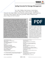 2018 A Review of Self‐Healing Concrete for Damage Management of Structures