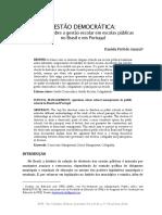 PATTI, Daniela (2016) Gestão democrática BR e PT
