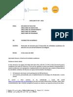Circular 007 de 23 de marzo -Protocolos de atención para el desarrollo de actividades académicas de docencia con uso de herramientas tecnológicas