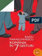 Radu Paraschivescu Romania in 7 Gesturi