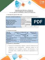 Guía de actividades y rúbrica de evaluación Unidad  2 - Fase 3 - Construir los cuatro escenarios  para la empresa seleccionada