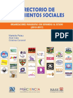 DIRECTORIO DE MOVIMIENTOS SOCIALES - MARIELLE PALAU - ANO 2017 - PORTALGUARANI