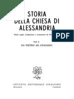 Orlandi_Storia della Chiesa di Alessandria_1_Da Pietro ad Atanasio (1968)