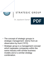 Strategic Groups