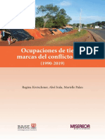 OCUPACIONES DE TIERRA - MARIELLE PALAU - ANO 2019 - PORTALGUARANI