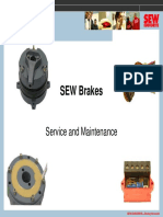 Service and Maintenance. SEW-EURODRIVE Driving the World