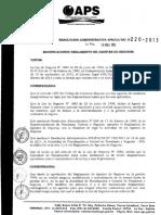 RA APS-DJ-DS-Nº220-2013 Modificaciones Reglamento de Agentes de Seguros.pdf