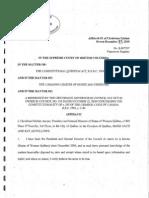 Affidavit Christiane Pelchat on Polygamy