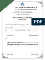 OS Lab Record
