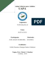 TOPOGRAFÍA II Unidad I