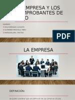 2_LA EMPRESA Y LOS COMPROBANTES DE PAGO