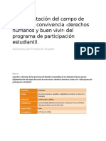 Taller - Implementacion del campo de accion de convivencia -derechos humanos y buen vivir- del programa de participacion estudiantil..docx