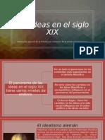 Presentacion pensamiento s XIX