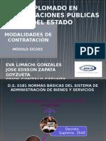 MODALIDADES DE CONTRATACIÓN SICOES erick final 1.pptx