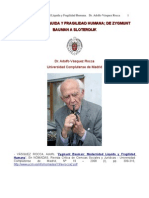 Dr. Adolfo Vasquez Rocca _ Zygmunt Bauman; Modern Id Ad Liquida y Fragilidad Humana _ucm