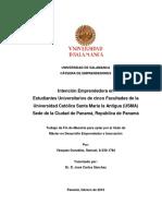 TFM - INTENCIÓN EMPRENDEDORA - PANAMÁ - VÁSQUEZ - feb 2016 - ver final