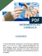 INSTRUMENTAÇÃO EM NEUROCIRURGIA