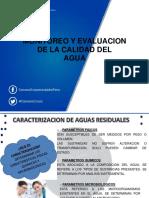 Monioreo y evaluación de la calidad del agua