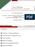 Cap. 3. Variables Aleatorias Discretas y Valor Esperado - Harnett & Murphy