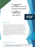 Presentación Costos y Presupuesto Jose Andrade