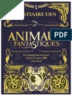 HP JdR Bestiaire Des Animaux Fantastiques