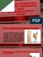 Prevención de accidentes en la manipulación y movilización
