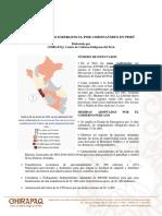 Reporte Sobre Emergecia Por Coronavirus en Perú al 27 de Marzo de 2020