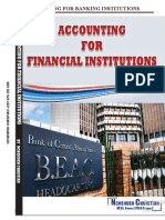Accounting for Banking Institutions