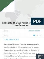 QMS PPT [5S pour l'amélioration de la performance]-Cameroon-Octobre, 2019