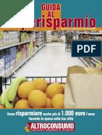 GUIDA AL Superisparmio - Suppl. n. 2 - Altroconsumo 207 settembre 2007