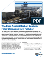 The Case Against Carbon Capture